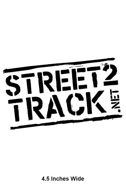 Street2Track Sticker 005
