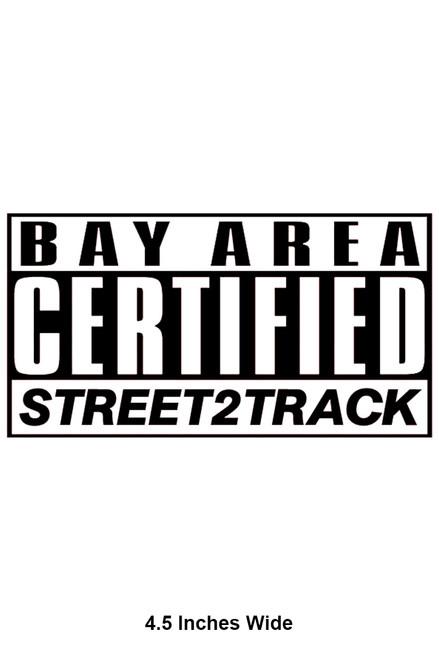 Street2Track Sticker 006