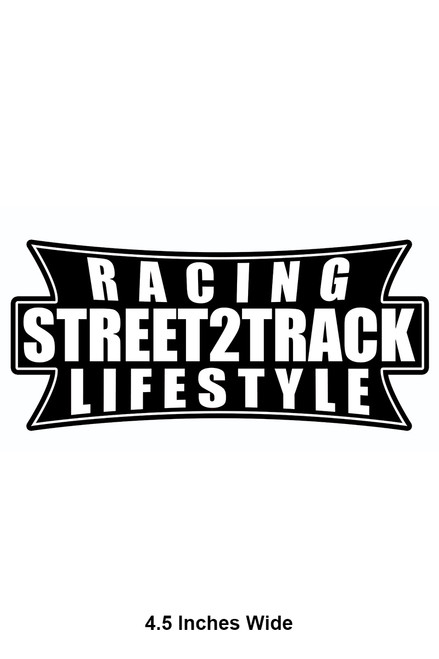 Street2Track Sticker 008