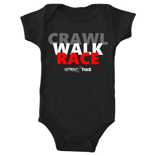Crawl, Walk, Race. Street2Track