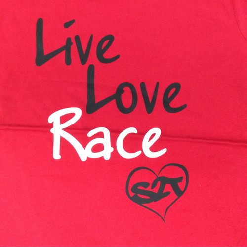 Live Love Race - Red