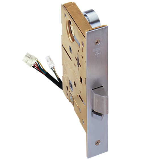 Our wired mechanical locks provide a unique way to lock and unlock the door from a remote location for safety, security or convenience.