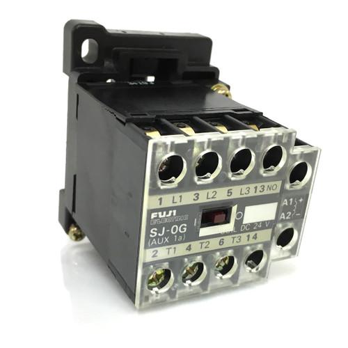Contactor SJ-0G-24VDC Fuji 24VDC 2.2kW SJ0G *New*