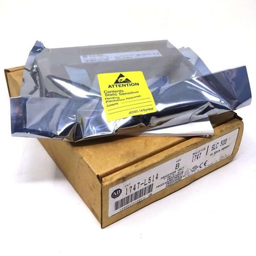 PLC Processor Unit 1747-L514 Allen-Bradley SLC 500