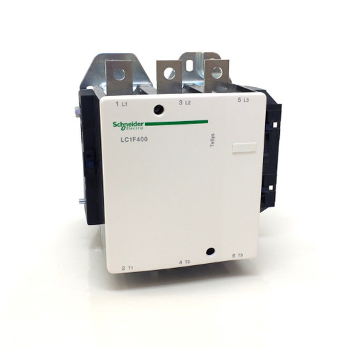 Contactor Series LC1F400 Schneider - AC3: 200kW 500A at 400V LC1F