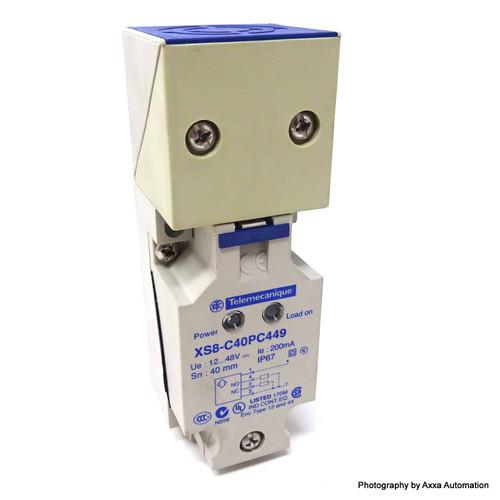 Inductive proximity Switch XS8C40PC449 Schneider Telemecanique 12-48VDC XS8-C40PC449