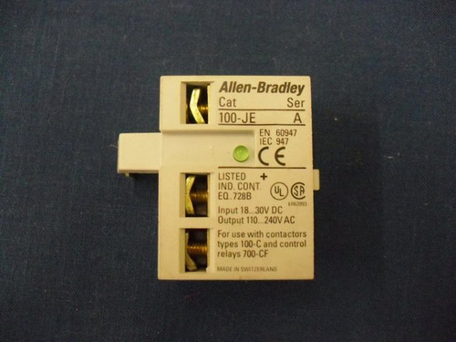 Interface Module 100JE Allen Bradley 100-JE