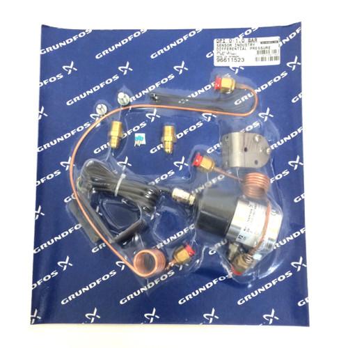 Pressure Sensor DPI-0-1,0-BAR Grundfos 0-1.0bar 96611523