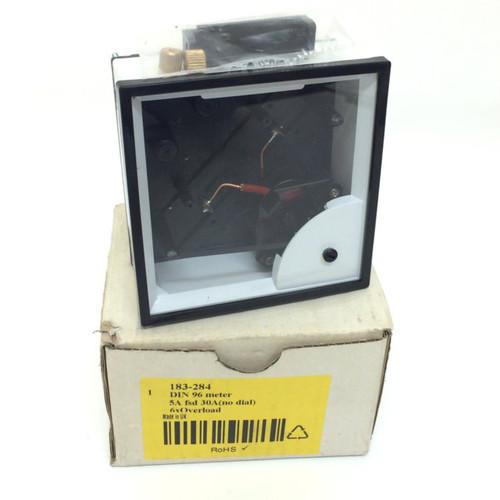 Ammeter 183-284 Hobut NO DIAL D96MIS5A6/2-001