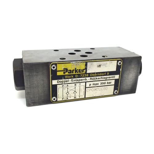 Check Valve CPOM-2DD30 Parker CPOM2DD30  *Used*