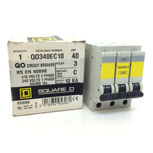 Circuit Breaker 10000 Square D 40A QO340EC10