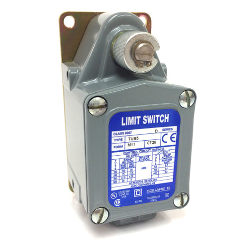 Heavy Duty Limit Switch 9007-TUB5-M11 Square D 9007TUB5M11