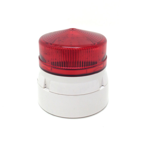 Beacon Red Flashing Surface Mount 188359 Farnell 110VAC 021109 188-359