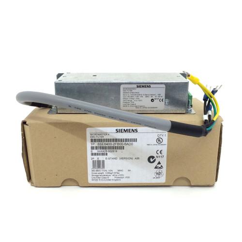 EMC filter 6SE6400-2FB00-6AD0 Siemens 6SE64002FB006AD0