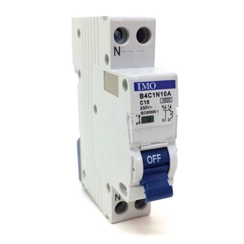 1P+N Circuit Breaker B4C1N10A IMO C-Curve 10A *New*