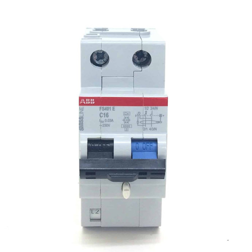 Circuit Breaker 2CCL562111E0164 ABB FS401E-C16/0.03 *NEW*