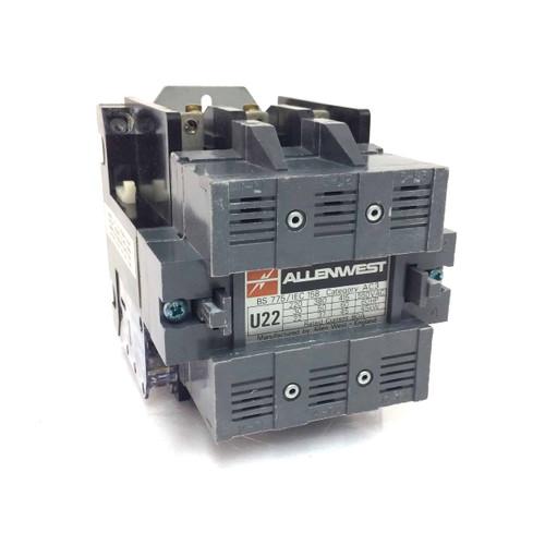 Contactor U22-230VAC Allenwest 220/230VAC 50Hz 37-45kW 5117258 *New*