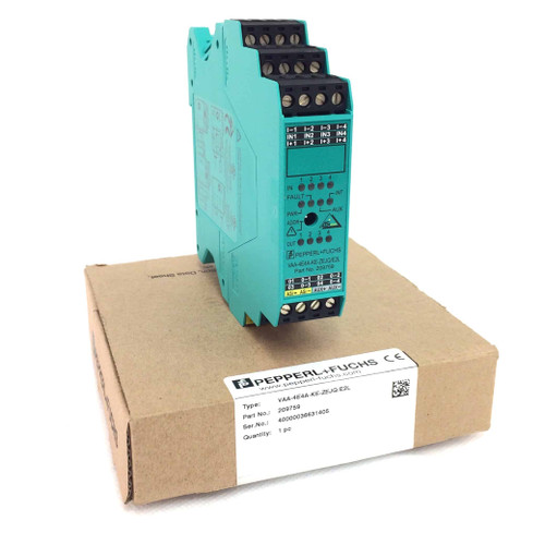 AS-Interface Module 209759 Pepperl + Fuchs VAA-4E4A-KE-ZEJQ/E2L