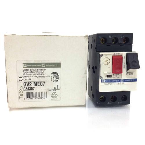 3P Motor circuit Breaker GV2ME07 Telemecanique 2.5A