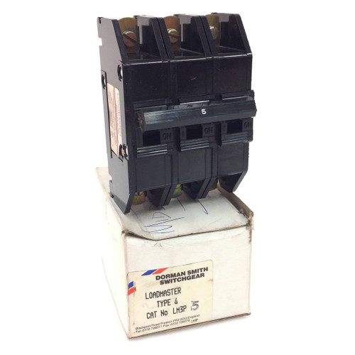 3 pole Circuit Breaker LM3P-5A Dorman Smith Loadmaster M3-5