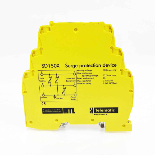 Surge Protection Device SD150X Telematic 120VAC SD-150X *New*