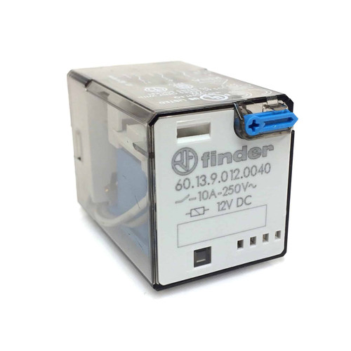 3-pole Control Relay 60.13.9.012.0040 Finder 12VDC 3PDT  601390120040
