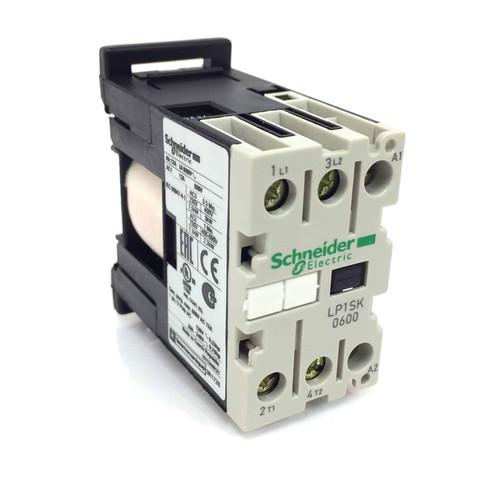 2 pole Heating Contactor LP1-SK0600BD Schneider 24VDC 056393 LP1SK0600BD