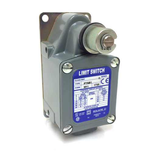Heavy Duty Foundry Limit Switch 9007FTSB1M11 Square D 9007-FTSB1-M11
