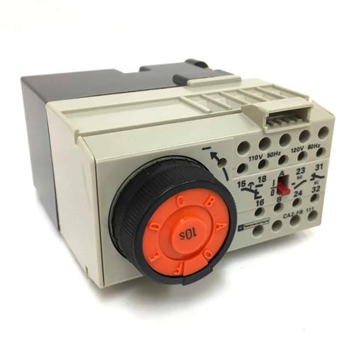 Time Delay Relay CA2FR111F Telemecanique 110VAC 15564 CA2-FR-111-F