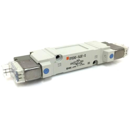 Double Solenoid Valve SY5240-5LOZ-Q SMC SY5240-5L0Z-Q *New*