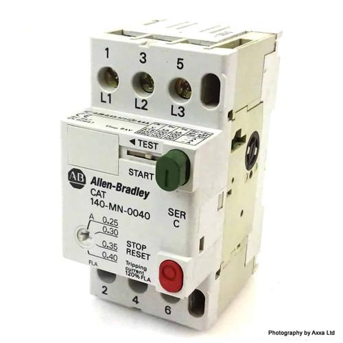 Circuit Breaker 140-MN-0040 Allen-Bradley 0.25-0.40A 140MN0040 *New*