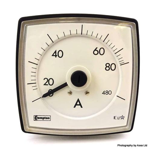 Ammeter 016-036B-LSPD-C7 Crompton 016-036B-LSPD-C7