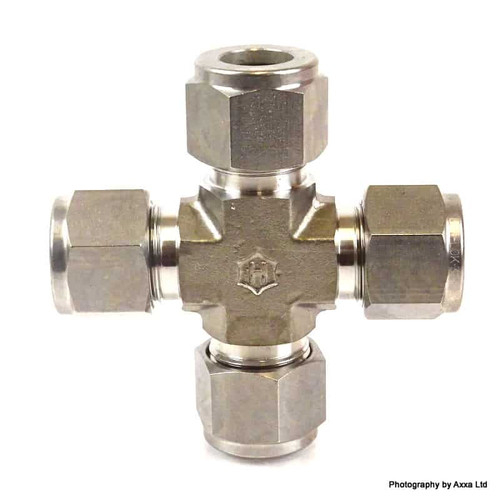 Cross Union Fitting 7102LSS1/2 Ham-Let 1/2inc SS-316 710-2LSS1/2 *New*