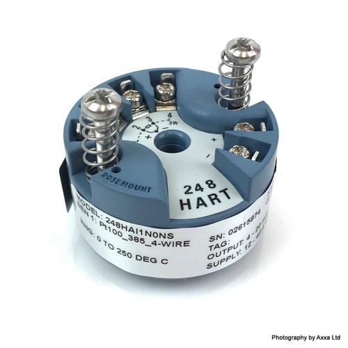 248 Temperature Transmitter 248HAI1N0NS Rosemount 248-H-A-I1-N-0-NS