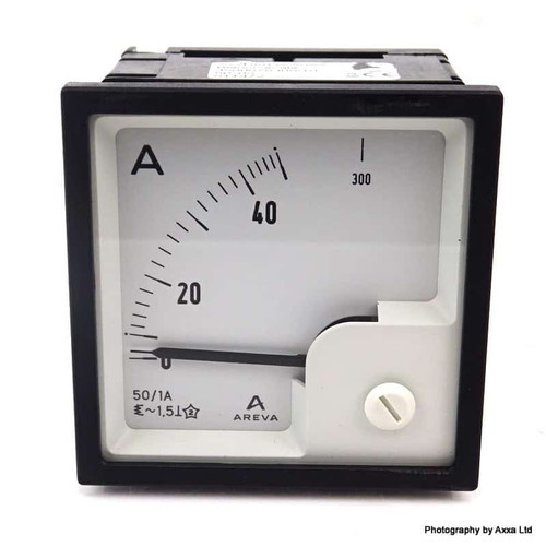 Ammeter A72DI01X5A0AA Areva 0-1A A72DI-01X5A0AA