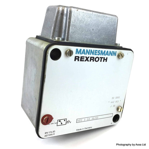 Bourdon tube pressure switch HED-3-OA-36/63 Rexroth HED-3-0A-36/63 HED3OA36/63 *New*