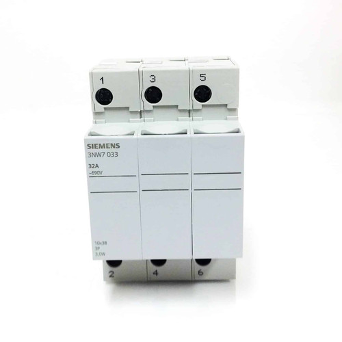 Fuse Holder 3NW7-033 Siemens 3P 32A 3NW7033