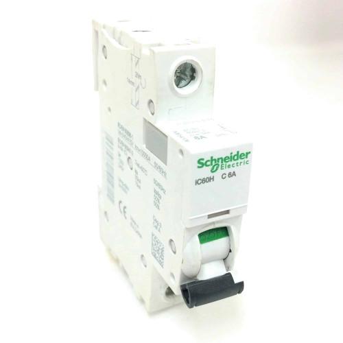 1P Circuit Breaker A9F54106 Schneider 6A *New*