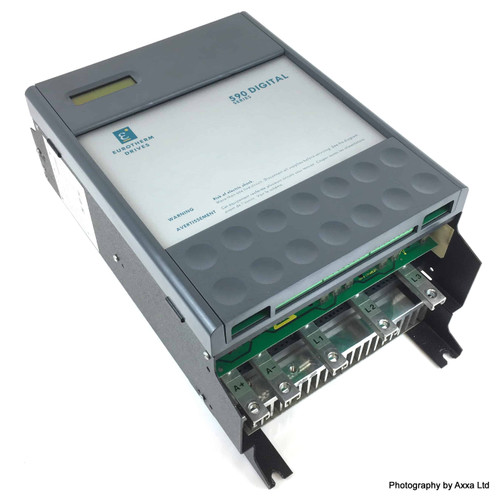 590 Digital Drive 590C/1100/6/0/0/0/0/00/000 Eurotherm 110A 590C/1100/6 *Used*