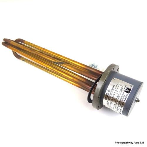 Flange Immersion Heater XUHTR-9-415-14.5C*3 Warren Electric C104V