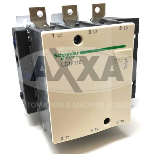 Contactor LC1F115 Schneider 59kW 012221 LC1-F115