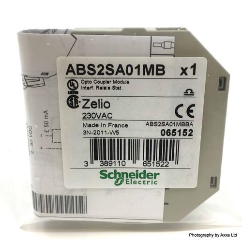 Opto Coupler Module ABS2SA01MB Schneider 230VAC 065152