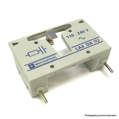 Coil Suppressor Module LA4DA1U Telemecanique 110-240VAC LA4-DA-1U