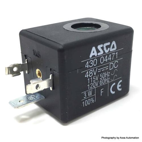 Solenoid Coil 430-04471 Asco 48VDC 115/120VAC 43004471