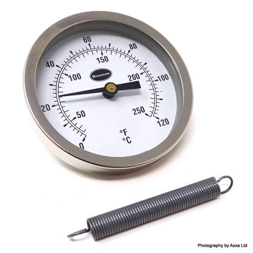 Clip On Thermometer 335010 BRANNAN 324-8558