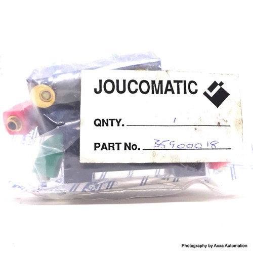 Logic Unilog Subbase 35900018 ASCO Joucomatic 1IN 1OUT