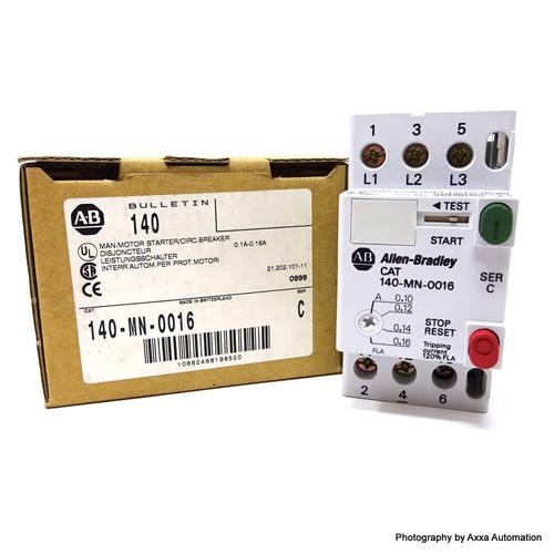 Circuit Breaker 140-MN-0016 Allen Bradley 0.1A-0.16A 140MN0016