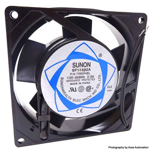Axial Fan SF11592A SUNON 115VAC 0.13A 498-031 1092HBL