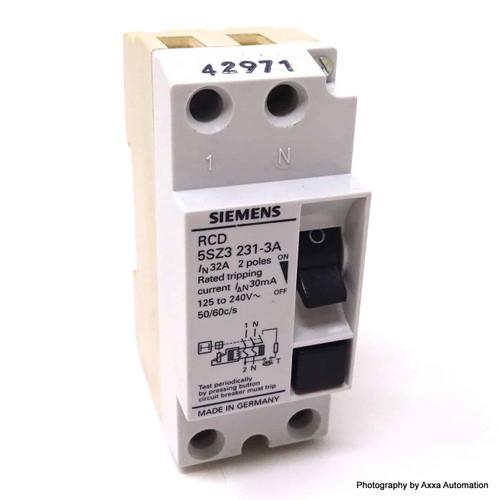 RCD 5SZ3231-3A Siemens 32A 5SZ32313A