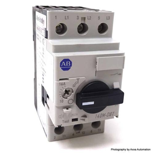 3P Circuit Breaker 140M-D8T-C16 Allen Bradley Series-C 10-16A 140MD8TC16